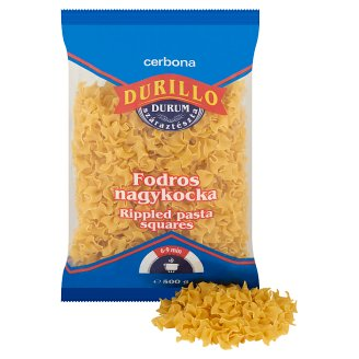 image 2 of Cerbona Durillo Rippled Durum Pasta Squares 500 g
