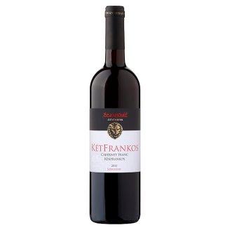 Szeleshát Szekszárdi KétFrankos száraz vörösbor 13% 750 ml