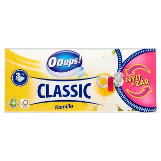 Ooops! Classic Camomile Handkerchief 3 Ply 90 pcs