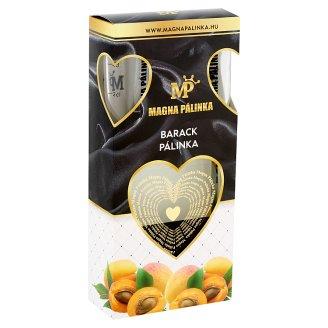 Magna Pálinka díszdobozos barack pálinka + 2 pohár 40% 0,5 l