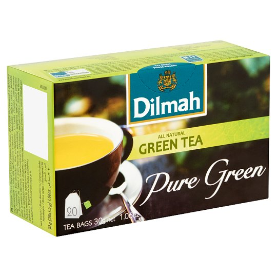 Dilmah Pure Green Green Tea 20 Tea Bags 30 g
