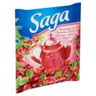 Saga Cranberries Flavoured Fruit Tea 20 Tea Bags