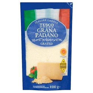 Tesco Grana Padano Grated, Semi-Fat Extra Hard Cheese 100 g