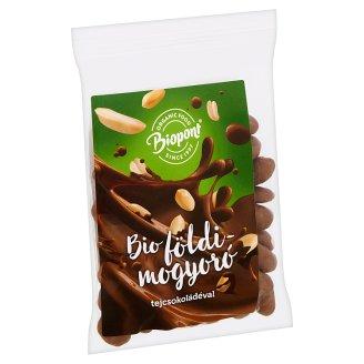 Biopont Organic Peanuts with Milk Chocolate 80 g