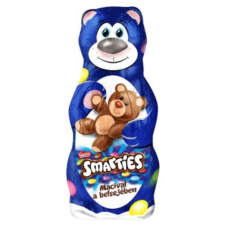 Smarties Dragees Filled Milk Chocolate Bear with Milk Chocolate Bear Inside 122,5 g