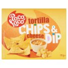 Poco Loco enyhén sózott kukoricachips edami sajtos és jalapeno chili paprikás sajtmártással 170 g