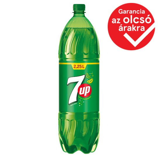7UP Citrus Flavoured Carbonated Drink with Sugar and Sweetener 2,25 l