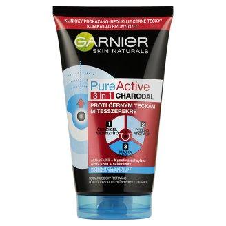 Garnier Skin Naturals Pure Active 3in1 Active Coal Against Blackheads for Fatty Skin 150 ml