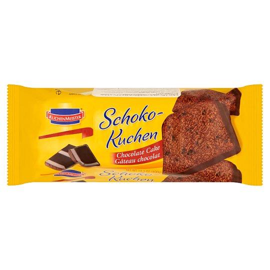 Kuchenmeister kakaós piskóta csokoládédarabokkal és kakaós bevonattal 400 g
