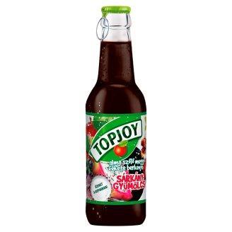 Topjoy alma-szőlő-meggy-fekete berkenye-sárkánygyümölcs ital 250 ml