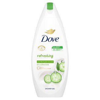 Dove Go Fresh bőrtápláló krémtusfürdő uborka és zöld tea illattal 250 ml