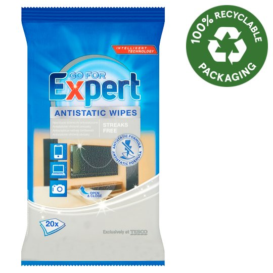 Go For Expert Antistatic Wipes 20 pcs