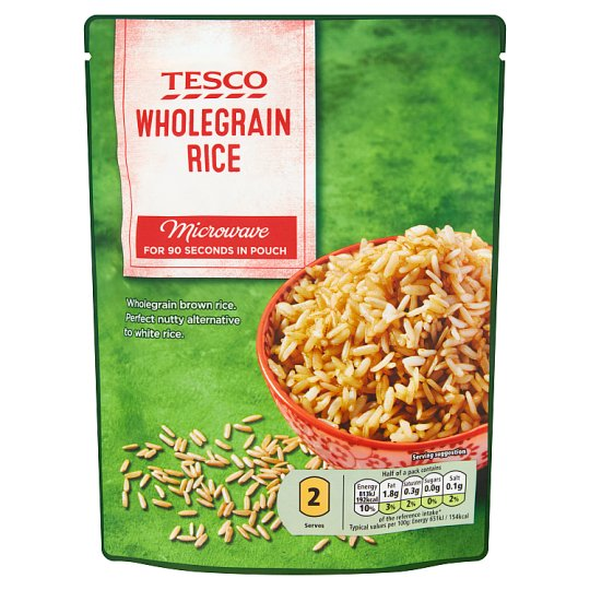 Tesco Wholegrain Rice 250 g