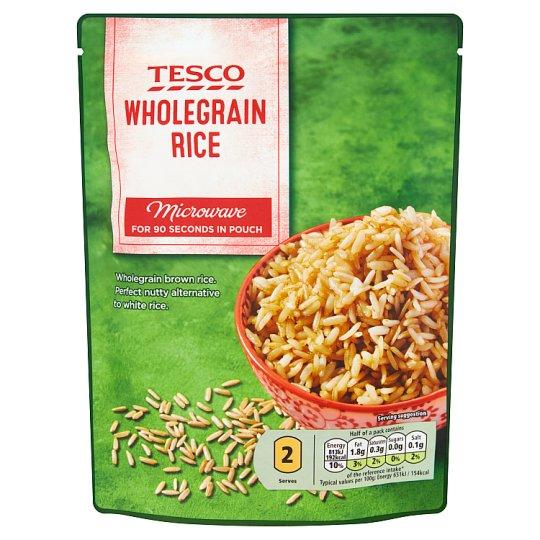 Tesco főtt barna rizs 250 g