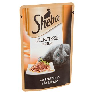 Sheba Alupacket with Turkey in Aspic Complete Pet Food for Adult Cats 85 g