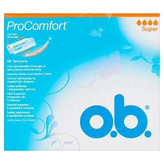 o.b. ProComfort Super Tampons 48 pcs