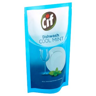 CIF Cool Mint Hand Washing Up Liquid Refill 500 ml