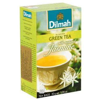 Dilmah Green Tea with Jasmine 20 Tea Bags 30 g