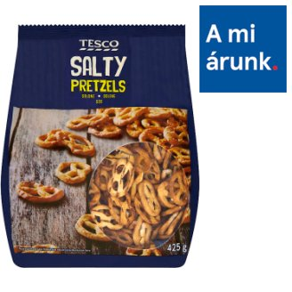 Tesco Salty Pretzels 425 g