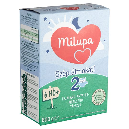 Milupa 2 Szép álmokat! Milk-Based Breast-Milk Supplement 6+ Months 600 g