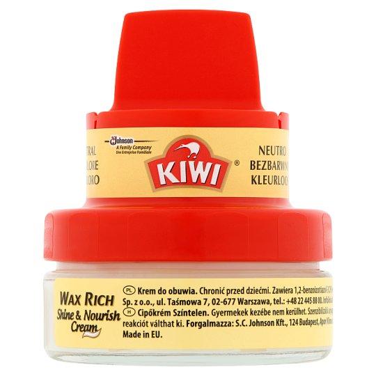 Kiwi Wax Rich Shine & Nourish Transparent Cream 50 ml