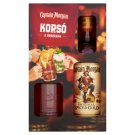 Captain Morgan Spiced Gold Spirit Drink with Spicy Caribbean Rum + Glass 35% 0,7 l