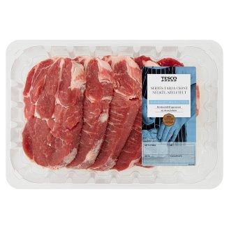 Tesco friss szeletelt sertés tarja csont nélkül 800 g