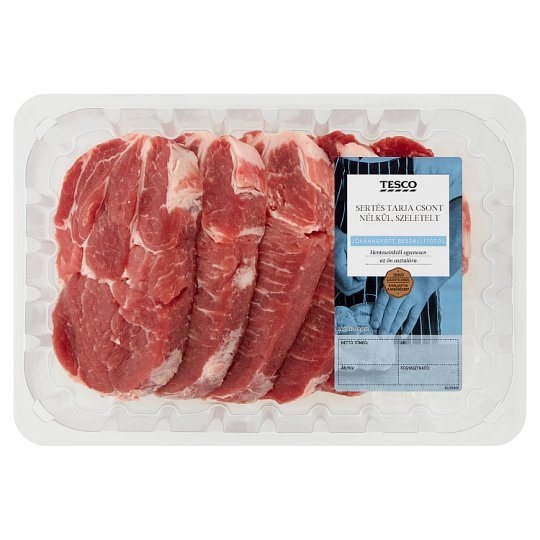 Tesco Sliced Pork Spare Ribs without Bones 800 g