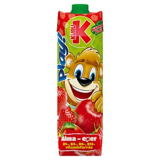 Kubu Play Apple-Strawberry Fruit Drink 1 l