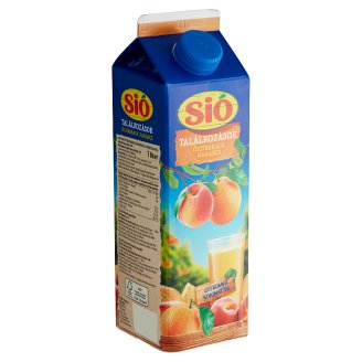 Sió Pulpy Peach-Orange Drink with Buckthorn Extract 1 l