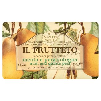 Nesti Dante Il Frutteto Mint and Quince Pear natúrszappan 250 g