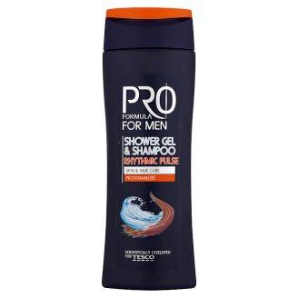 Tesco Pro Formula Rhythmic Pulse Shower Gel & Shampoo 250 ml