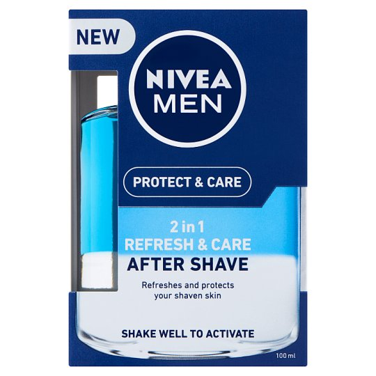NIVEA MEN Protect & Care 2in1 frissítő & ápoló after shave lotion 100 ml