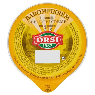 Orsi Poultry Cream with Goose Liver 50 g