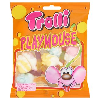 Trolli Playmouse Fruit Flavoured Jelly Gums 100 g