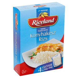 "Riceland ""A"" Quality Milled Long Grain Rice 4 x 100 g"