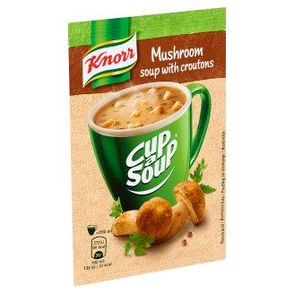 Knorr Cup a Soup vargányakrémleves zsemlekockával 15 g