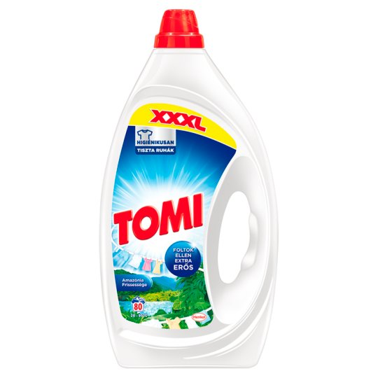 Tomi Max Power Amazonian Freshness Liquid Detergent 80 Washes 4 l