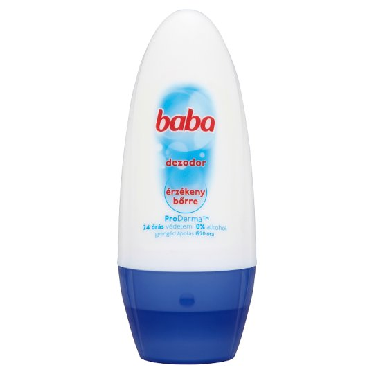 Baba Anti-Perspirant Roll-On Deodorant for Sensitive Skin 50 ml