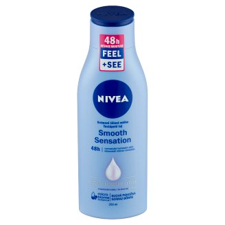 NIVEA Smooth Sensation Body Milk for Dry Skin with Deep Moisture Serum and Shea Butter 250 ml