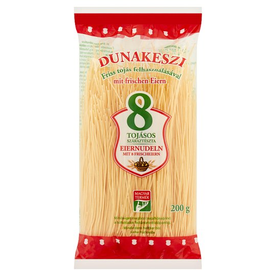 Dunakeszi Vermicelli Dried Pasta with 8 Eggs 200 g