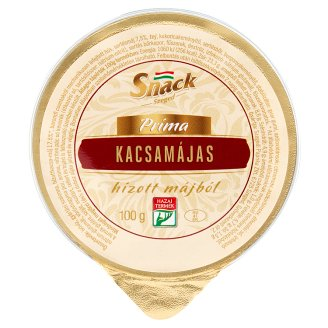 Snack Szeged Príma Duck Liver Pate from Fat Liver 100 g