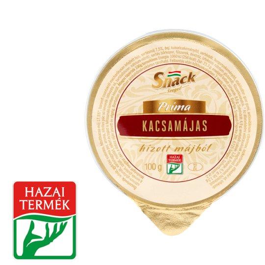 Snack Szeged Príma kacsamájas hízott májból 100 g