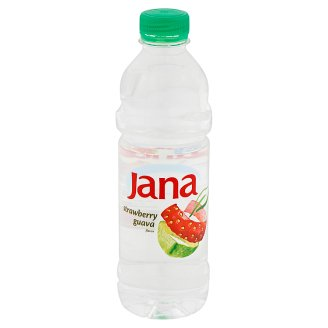 Jana Low-Energy Strawberry and Guava Flavoured Non-Carbonated Drink 0,5 l