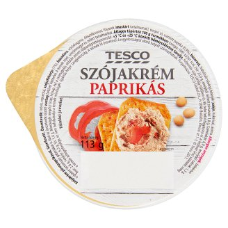 Tesco Soya Cream with Paprika 113 g