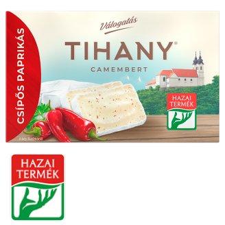 Tihany Válogatás Szendvics Camembert csípős paprikás zsíros lágysajt 120 g