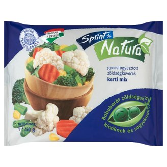 Sprint Natura Quick-Frozen Garden Vegetable Mix 450 g