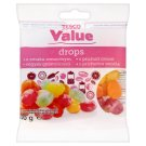 Tesco Value Mixed Fruit Flavoured Drops 100 g