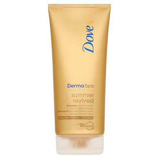 Dove Derma Spa summer revived önbarnító testápoló világos-normál bőrre 200 ml