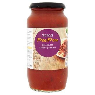 Tesco Free From gluténmentes paradicsomalapú szósz vöröshagymával és zöldfűszerekkel 500 g
